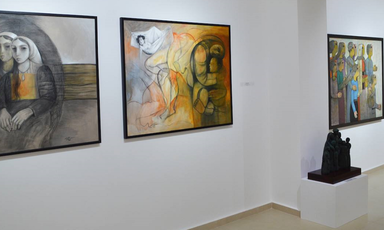 Narratives exhibition, Zawyeh Gallery, Ramallah